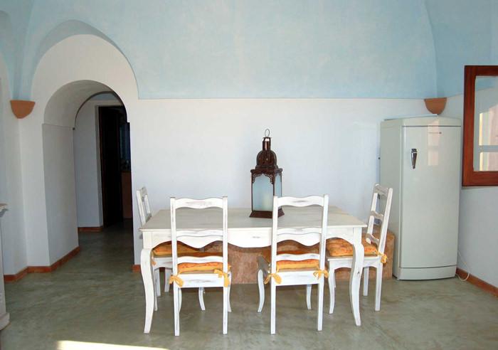 Sala da pranzo Dammuso Tramonto 13